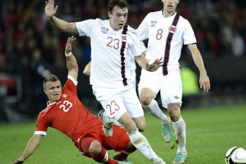 Forren in action for Norway.