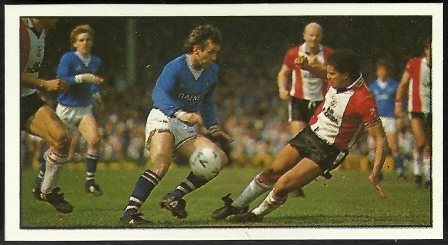 Peter Reid playing at the Dell 10 years before he would sign for Saints.