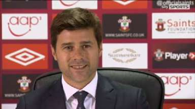 Mauricio Pochettino is unveiled at Southampton.
