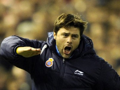 Pochettino at Espanyol.