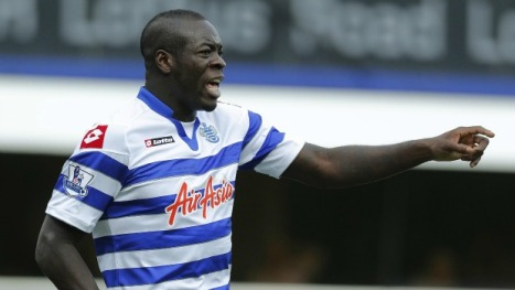 Chris Samba - QPR's big money man.