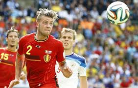 Alderweireld at the World Cup.