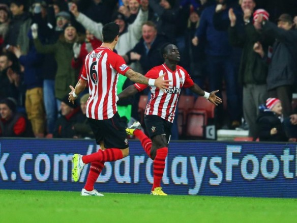 Sadio Mane scored against Arsenal for Southampton (Picture: Getty)